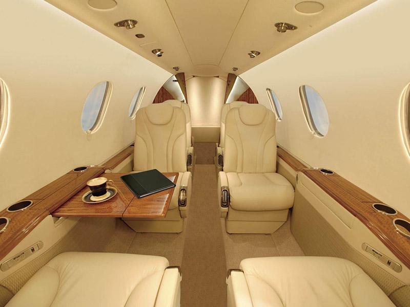 Hawker Beechcraft Premier1 private jet hire