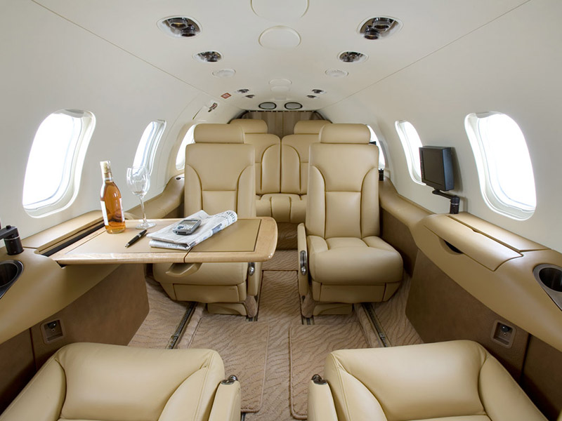 Learjet 31 Private Jet Hire