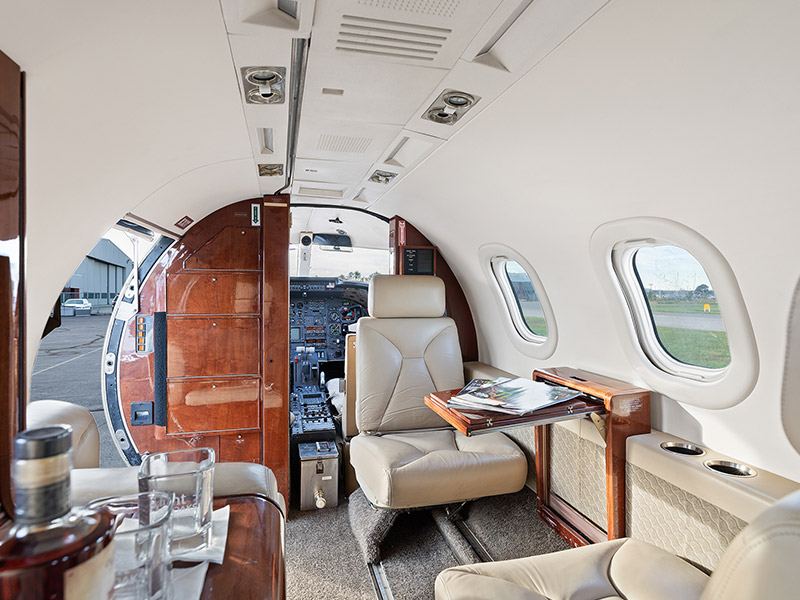 Learjet 35A Private Jet Hire