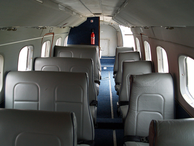 Embraer EMB 110 Private Jet Hire