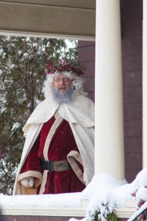father christmas in all his velvety glory