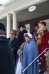the revelers singing christmas carols