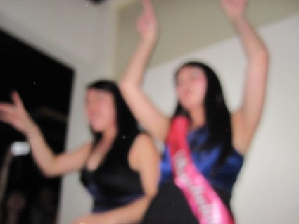 this blurry shot from my bachelorette needs no more explanation.