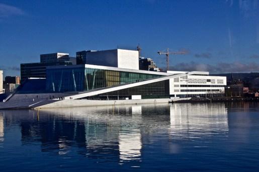 Wie ein Eisberg: Oslos Oper
