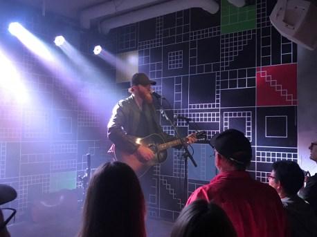 """Eric Paslay live im Club """"Häkken"""""""
