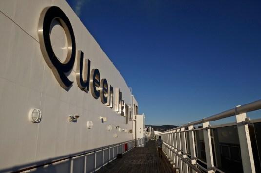 Außendeck Queen Mary 2