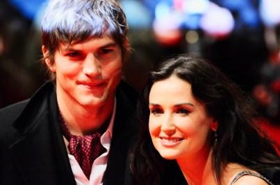 Ashton KutcherAshton Kutcher und Demi Moore
