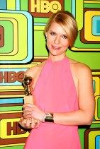Claire Danes im Januar 2011 auf der HBO Gloden Globe Party
