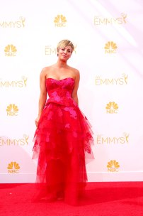 Kaley Cuoco im August 2014 auf den Primetime Emmy Awards