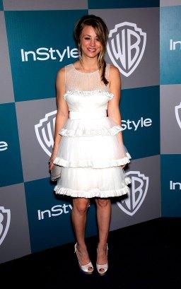 Kaley Cuoco im Januar 2012 auf der Golden Globes After Party