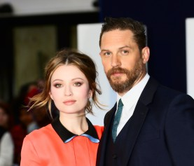 Emily Browning und Tom Hardy