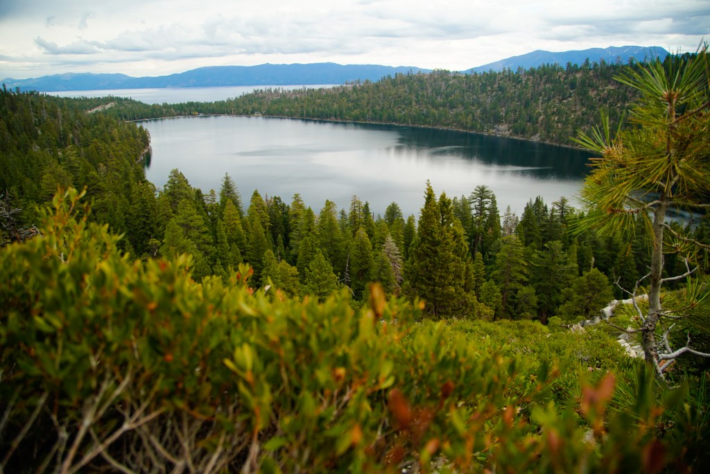 Emerald Bay State Park in South Lake Tahoe, California