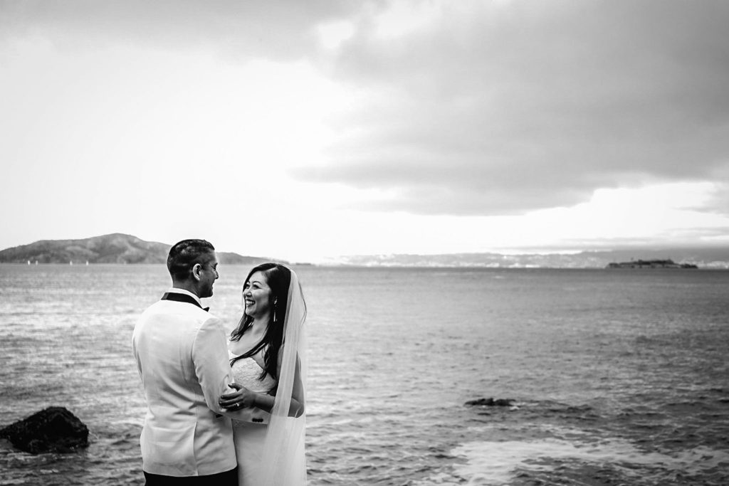 Beach and mountain elopement locations in San Francisco, California