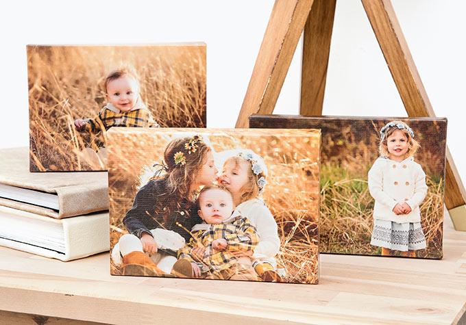 Family canvas wraps