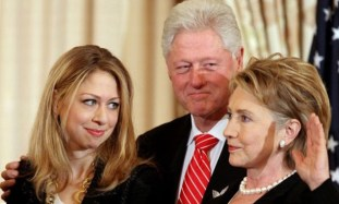 Image result for clinton family