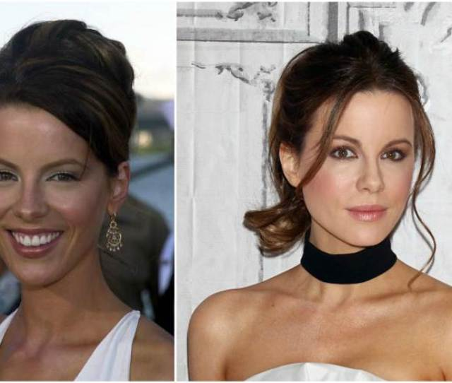 Kate Beckinsales Eyes And Hair Color
