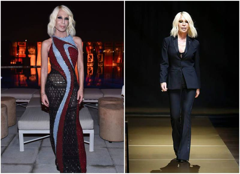 Donatella Versaces Height Weight How She Spoiled Her