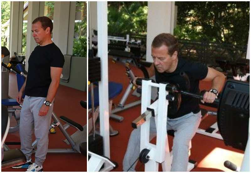 Dmitry Medvedev's height, weight and physical changes