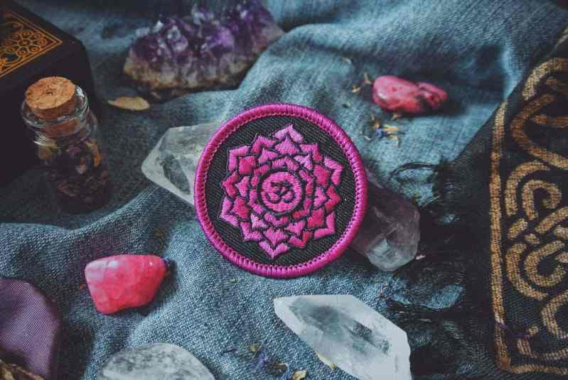 Chakra Gift Set: 7 Embroidered Patches