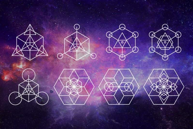Sacred Geometry Vector Pack