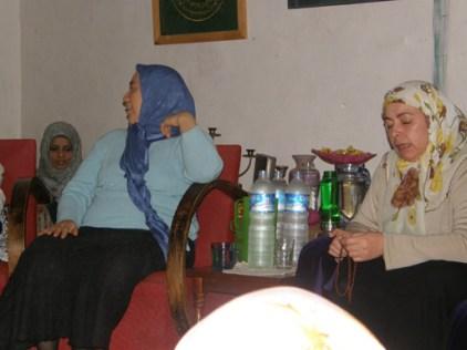 Hajjah Ruqayya and Hajjah Naziha, Mawlana's two daughters leading our zikr
