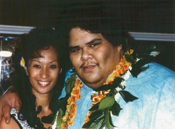 Marlene Kamakawiwoʻole-with-her-husband-image