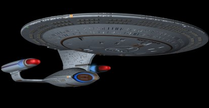 USS ENTERPRISE 1701 D