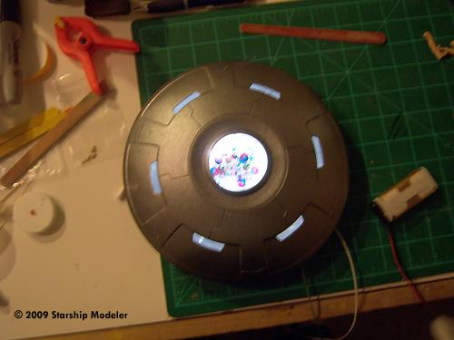 Starship Modeler Pegasus Hobbies Area 51 UFO Built and