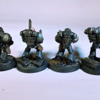 Ork bike and Marines
