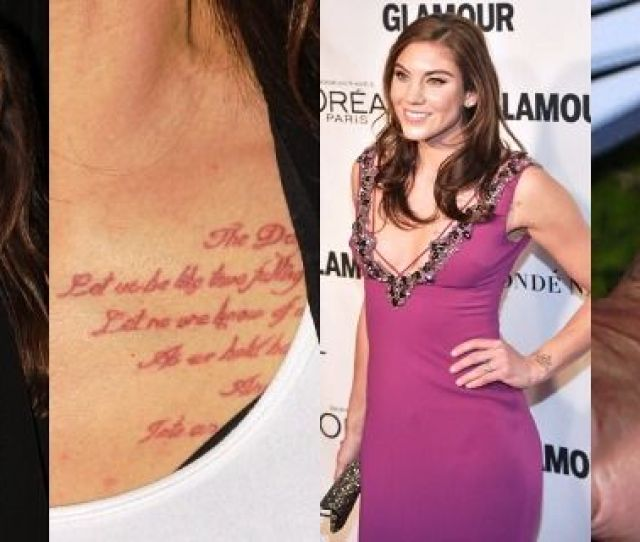 Hope Solo Tattoos
