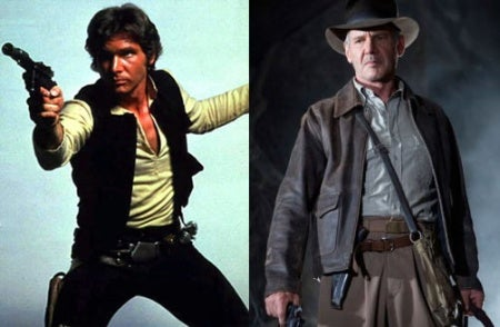 Han Solo, Indiana Jones