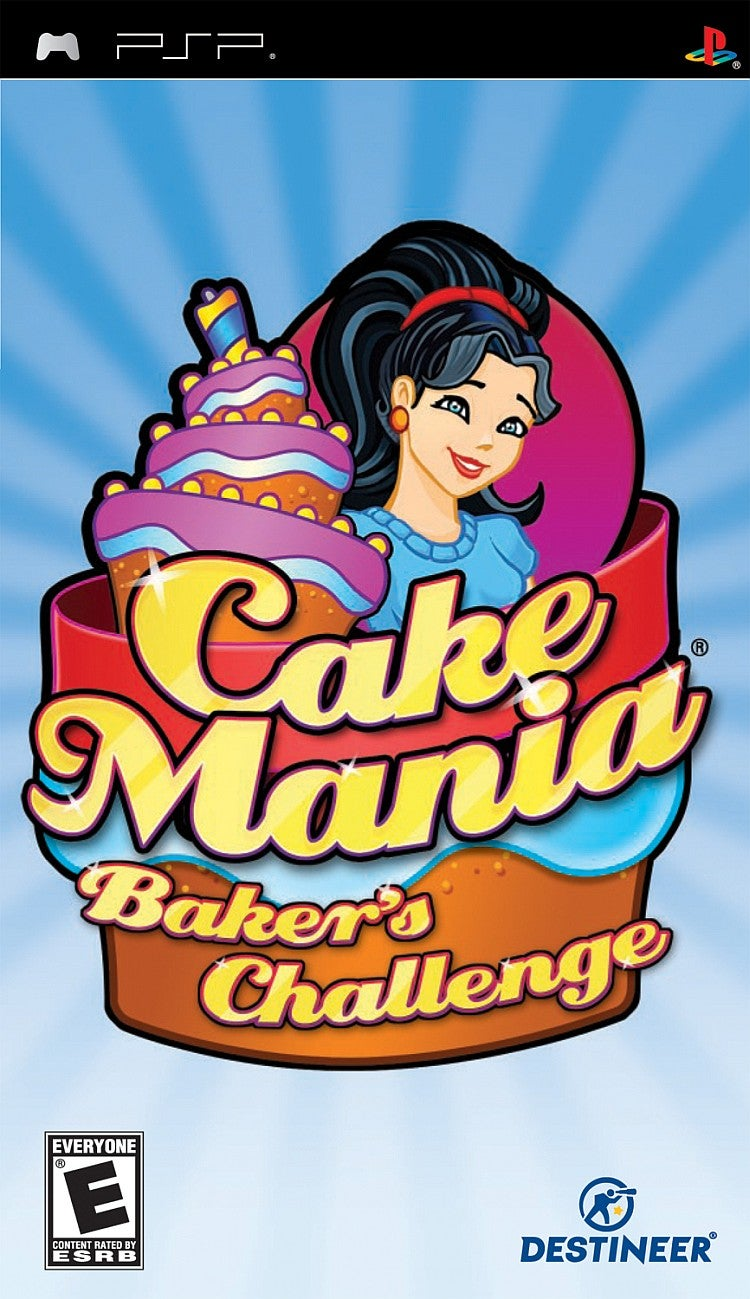 Cake Mania Bakers Challenge PlayStation Portable IGN