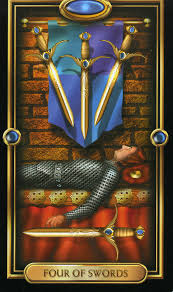 four of swords tarot