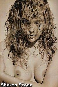 sharon stone nue