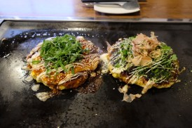 this has been the best Okonomiyaki i've ever tried, definitely far from the commercialized ones that I've tried