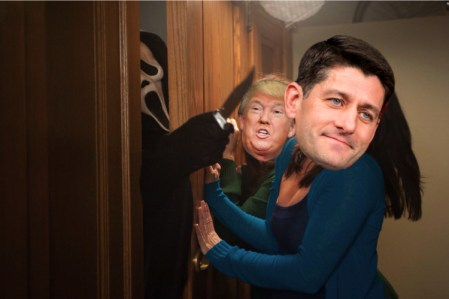 paul ryan in closet