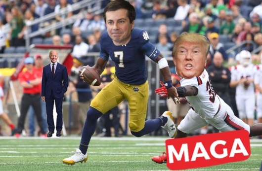 mayor pete running qb