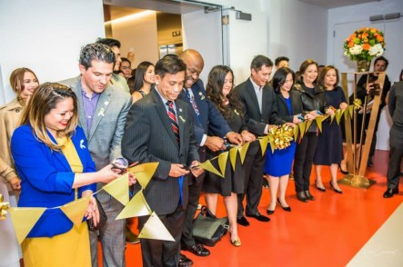 Ribbon-cutting ceremony of the Grand Opening of TFC's new Daly City Office