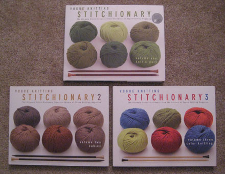 Vogue Knitting Stitchionaries