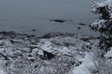 Frosted low tide