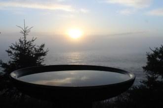 Sunrise in a bowl