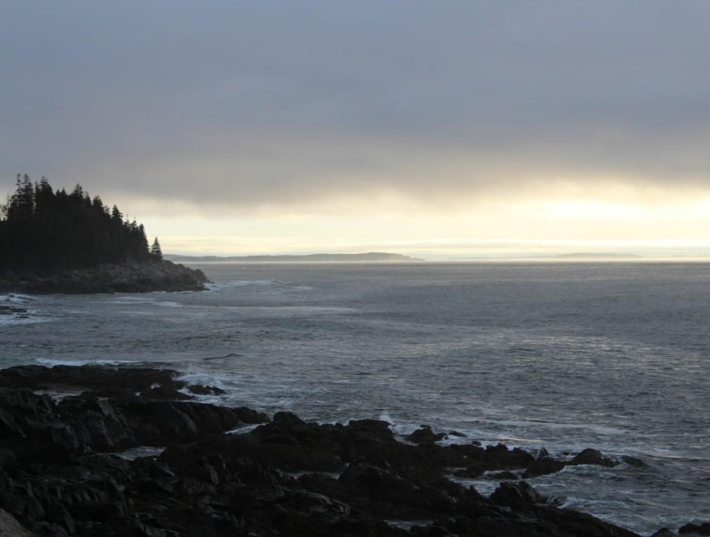 Overcast sunrise April 17 2017