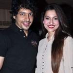 Gauhar Khan with Nihar Pandya