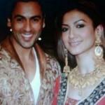 Gauhar Khan with Sahil Peerzada