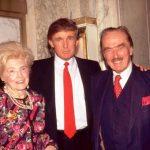 Donald Trump with his parents