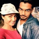 Hina Khan with Rocky Jaiswal