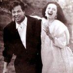 Rekha with late ex husband Mukesh Agarwal