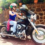 Urvashi Rautela Harley Davidson