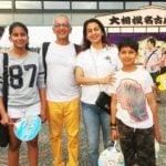 Jhanvi Mehta with her family