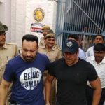 Salman Khan Outside Jodhpur Jail After Bail